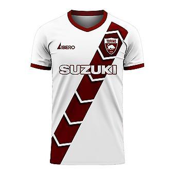 Torino 2020-2021 Away Concept Football Kit (Libero)