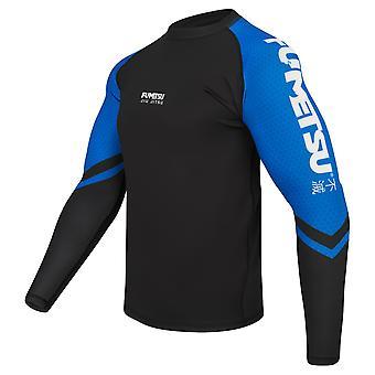 Fumetsu Competitor MK1 Long Sleeve Rash Guard Blue