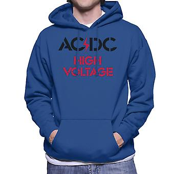 AC/DC High Voltage Men's Hooded Sweatshirt