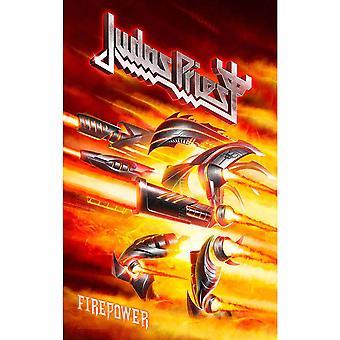 Judas Priest Poster Firepower Band Logo new Official 70cm x 106cm Textile