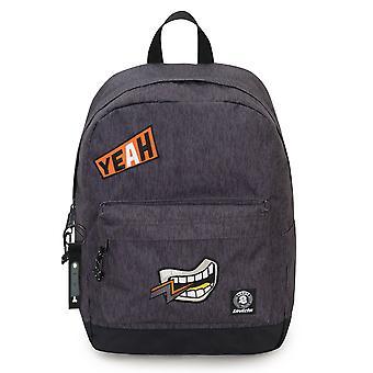 INVICTA Backpack - Perky Pack - Grey - 27 Lt - Pc Pocket - Szkoła i wypoczynek - Amerykański