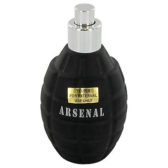 Arsenal Blue Eau De Parfum Spray (Tester) By Gilles Cantuel 3.4 oz Eau De Parfum Spray