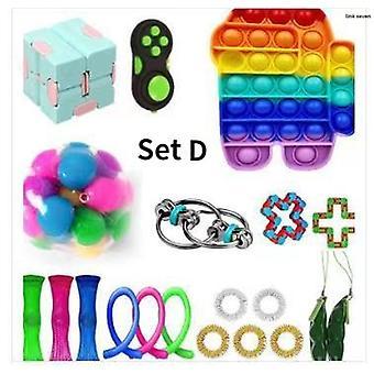 Sensory Fidget Toys Set 20 pezzi giocattoli per alleviare lo stress