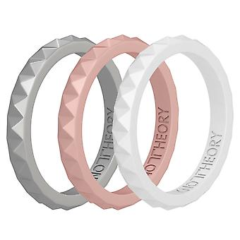 Bliss Stackable 3-pack Silicone Rings