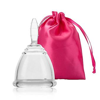 Scandinavian style reusable feminine hygiene menstrual silicone cup