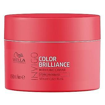 Wella Professionals Invigo Color Brilliance Mask für feines oder normales Haar 150 ml
