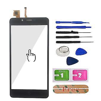 5.0'' Mobil pekskärm fram för Leagoo Kiicaa Power Touch Screen Glass