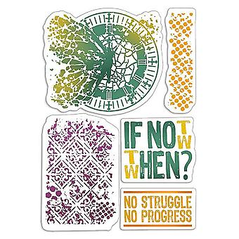 """Ciao Bella 4""""x6"""" Stamps - If Not Now When"""