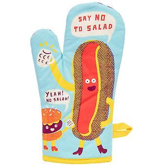 Blue q - say no to salad oven mitt