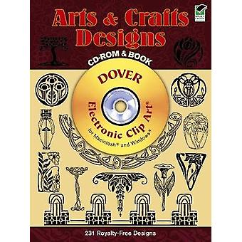Arts and Crafts Designs CDROM and Book par Marty Noble