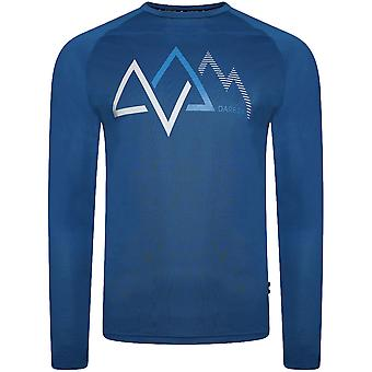 Dare 2b Mens Righteous Wicking Reflective Long Sleeve Top