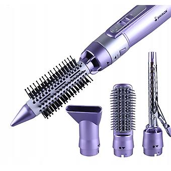 Shinon Multifunctional Hair Drying Comb, Electric Straightening Comb And Curling Rod Dual-use 4 In 1