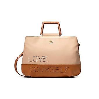 Desigual Bols_rhapsody Deva - Bag med håndtak, 18 x 24 x 28 cm, farge: Brun
