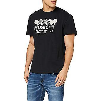 Pepe Farkut Burry T-paita, Musta (Musta 999), Ainutlaatuinen (Koko valmistaja: SMA L) Miehet