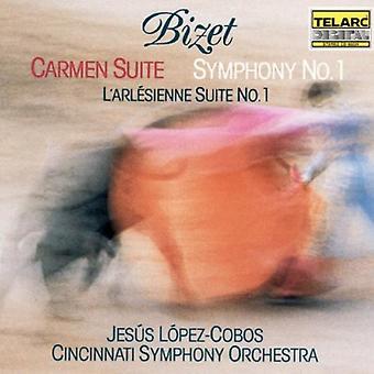G. Bizet - Bizet: Carmen Suite; Symphony No. 1; L'Arl Sienne Suite No. 1 [CD] USA import