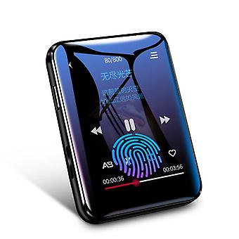 X1 Bluetooth Mp4 Player Touch Screen 8gb 16gb Music Player With Fm Radio Video
