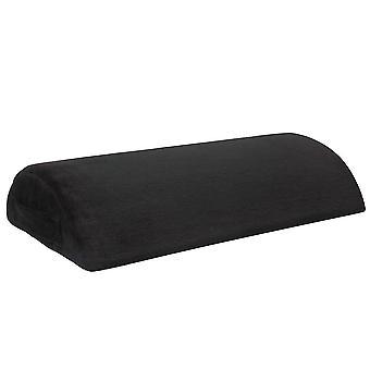 45 * 30 * 10Cm وسادة راحة القدم المنزلية السوداء ، مكتب القدم بقية حصيرة az16894