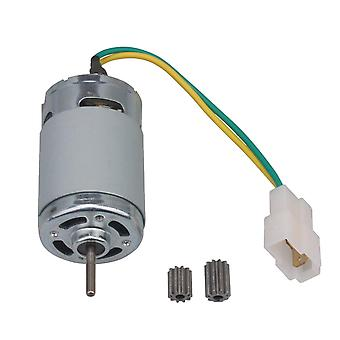 For Silver 24V Model 550 Toy Car Motor Electronic Components 18000R Gear 10T WS2665