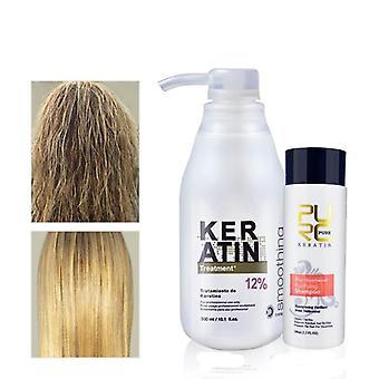 Keratiini hoito shampoo, suoristavat hiukset