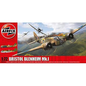 Bristol Blenheim Mk.1 Sarja 4 1:72 Air Fix Mallisarja