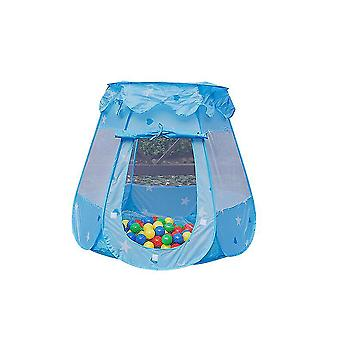 Kids Tent, Use As Tent For Kids, Or Ball Pits For Toddlers. Kids Tent Play House(BLUE)