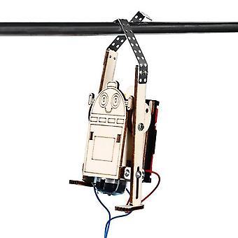 Diy الروبوت الكهربائية، حبل تسلق الاطفال اكتشاف العلوم، Stem التعليم،