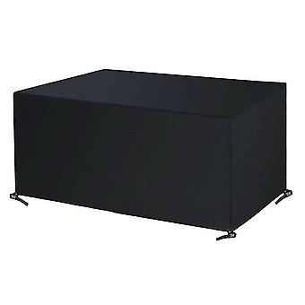 420D Oxford cloth Outdoor waterproof furniture dust cover(308*138*89cm)