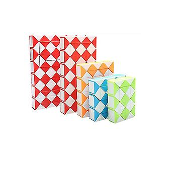 Snake Design Twisted Cube deformation Ruler, Kids puzzle Educational toy