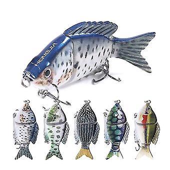 5pc 9.5cm 22g Hard Multi Jointed Lure Fishing Bait Fishing Lure Fishing Tools