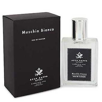 Muschio Bianco (white Musk/moss) By Acca Kappa Eau De Parfum Spray (unisex) 3.3 Oz (women)
