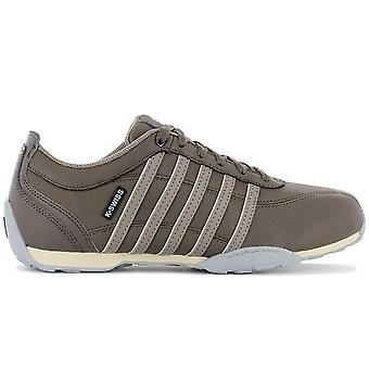 K-Swiss Arvee 1.5 - Men's Leather Shoes Taupe Brown 02453-221-M Sneakers Sports Shoes