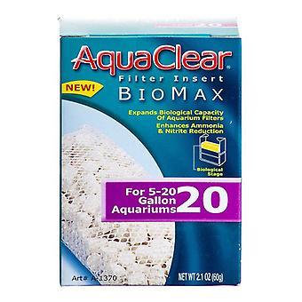 Aquaclear Bio Max Filter Insert - Bio Max 20 (Fits AquaClear 20 & Mini)