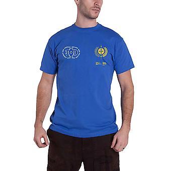 Imagine Dragons T Shirt Lyrics Band Logo new Official Mens Blue