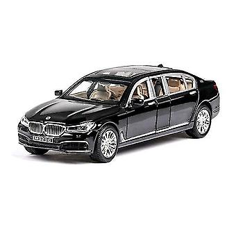 Toy cars 1:24 bmw 760li car model alloy car die cast toy car model pull back children's toy collectibles
