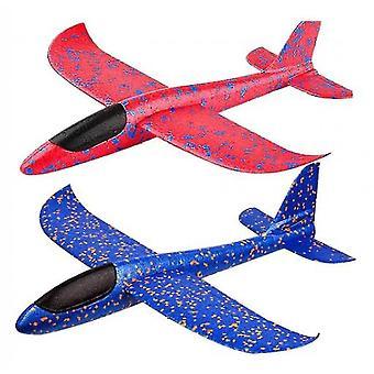 Schaum Flugzeug werfen Segelflugzeug Spielzeug, Flugzeug Trägheitsschaum Epp Outdoor Flying Airplane
