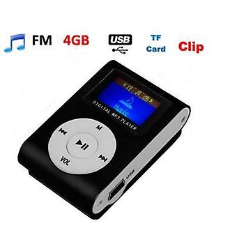 MP3プレーヤー液晶 + 4 Gb / ゴーカード
