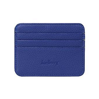 Men's Business Pocket Slim Thin Id Credit Card Money Holder Wallet