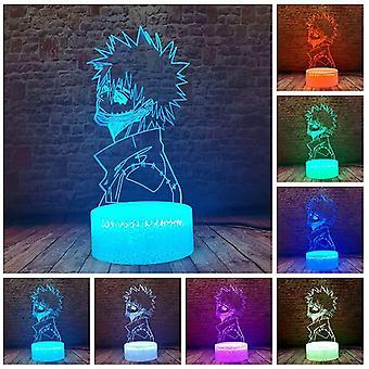 Led Anime Lampa Biurko 16 kolorów Zmień pilot zdalnego sterowania Stół Nocne światło dla dzieci Urodziny