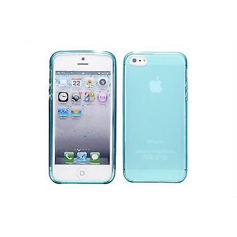 Crystal Gel geval dekking voor Apple iPhone 5 5S SE - Light Blue