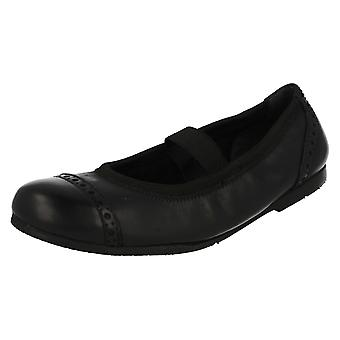 Girls Startrite Ballerina Formal/School Shoes Nicki