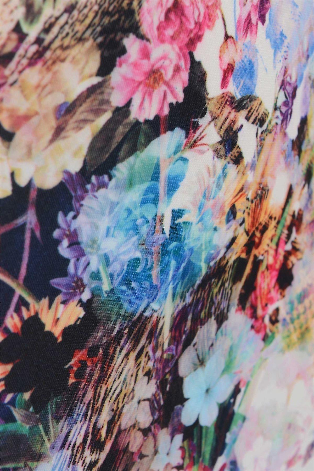 تنورة قلم الزهور الخفيفة Love2Dress مع هيم Peplum