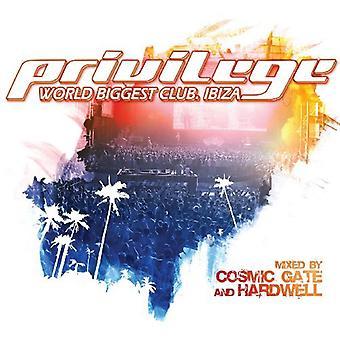 Cosmic Gate & Hardwell - Privilege Ibiza (World Biggest Club. Ibiza) [CD] USA import