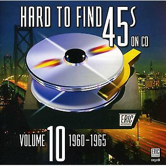Hard to Find 45's on CD - Hard to Find 45's on CD: Vol. 10-1960-65 [CD] USA import
