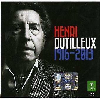 Henri Dutilleux - Henri Dutilleux, 1916-2013 [CD] USA import