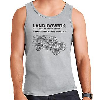 Haynes Workshop Manual Land Rover Black mannen Vest