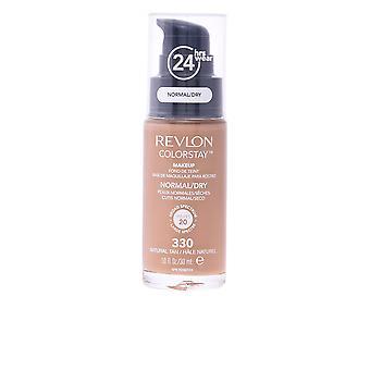 Revlon Colorstay base piel Normal/seca #250-fresh Beige 30 Ml para mujer