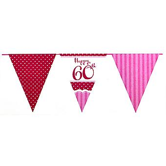 Creative Party Happy 60th Birthday Bunting