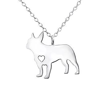 Dog - 925 Sterling Silver Plain Necklaces - W30225x