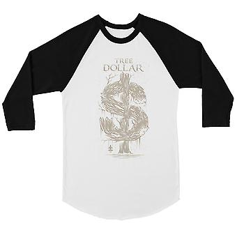 Tree Dollar Mens Baseball Shirt