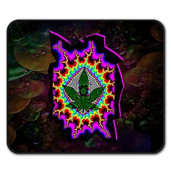 Rasta Weed Psychedelic  Non-Slip Mouse Mat Pad 24cm x 20cm | Wellcoda